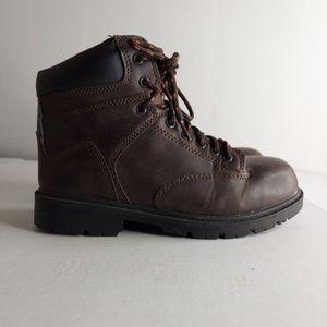 Brahma Brown Steel Toe Work Boots